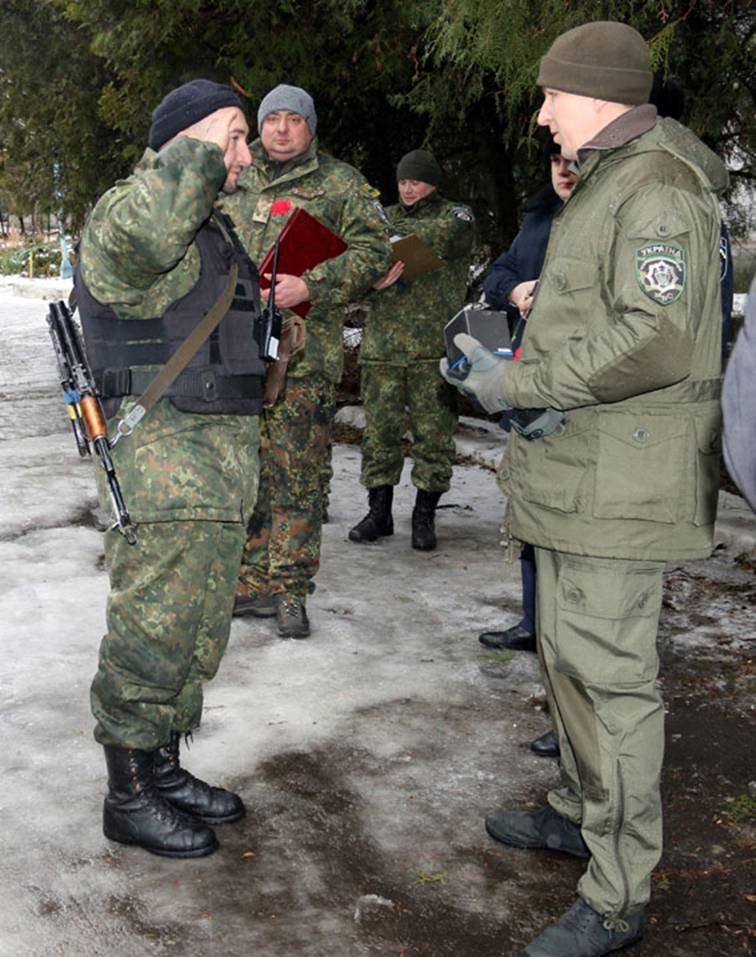 Найкращі львівські міліціонери, які повернулись з АТО, отримали годинники (ФОТОРЕПОРТАЖ) (фото) - фото 4