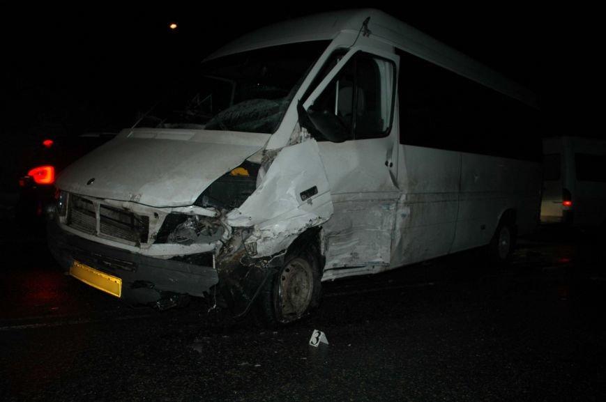 ОБНОВЛЕНО: В Запорожье произошло серьезное ДТП с участием маршрутки и машины лесной охраны (фото) - фото 1