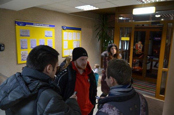 Гродненцы торжественно встретили хоккеистов «Немана» привезших Континентальный кубок (Фото), фото-9