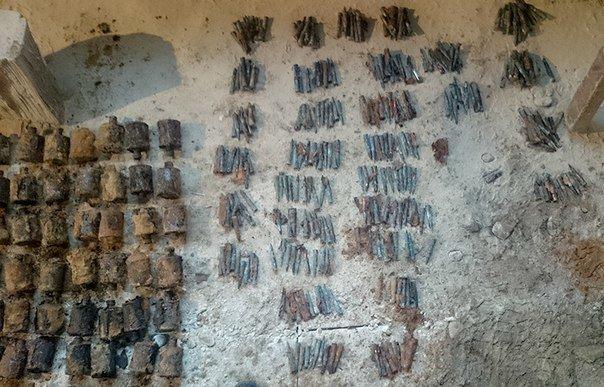 В Волковыске на территории ЖКХ нашли более 200 гранат и 2 тыс патронов (Фото) (фото) - фото 2