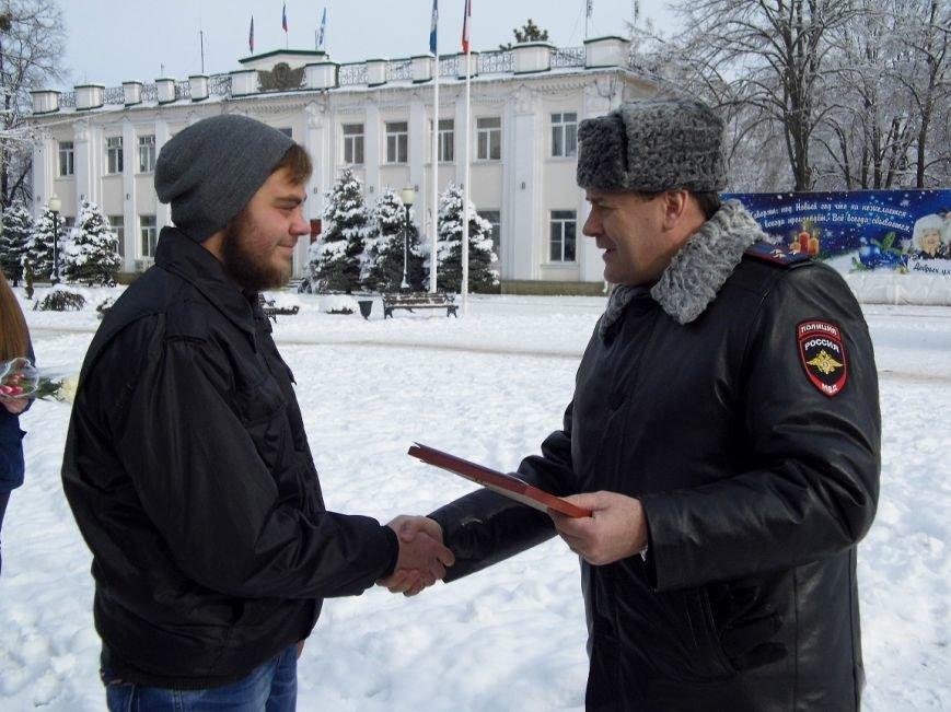Их наградили за то, что они помогли раскрыть преступления (фото) - фото 1