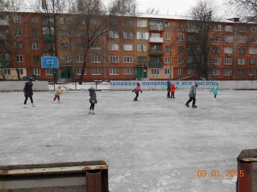 В Красноармейске состоялись соревнования по конькобежному спорту «Олимпийская снежинка» (фото) - фото 4