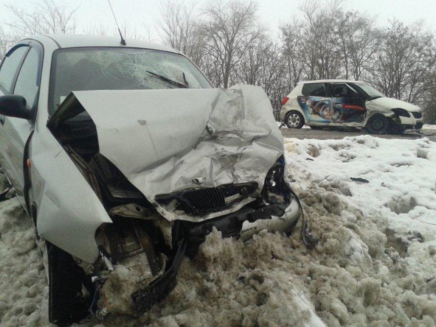 В Запорожской области столкнулись легковушки – пострадало пять человек (ФОТО), фото-2