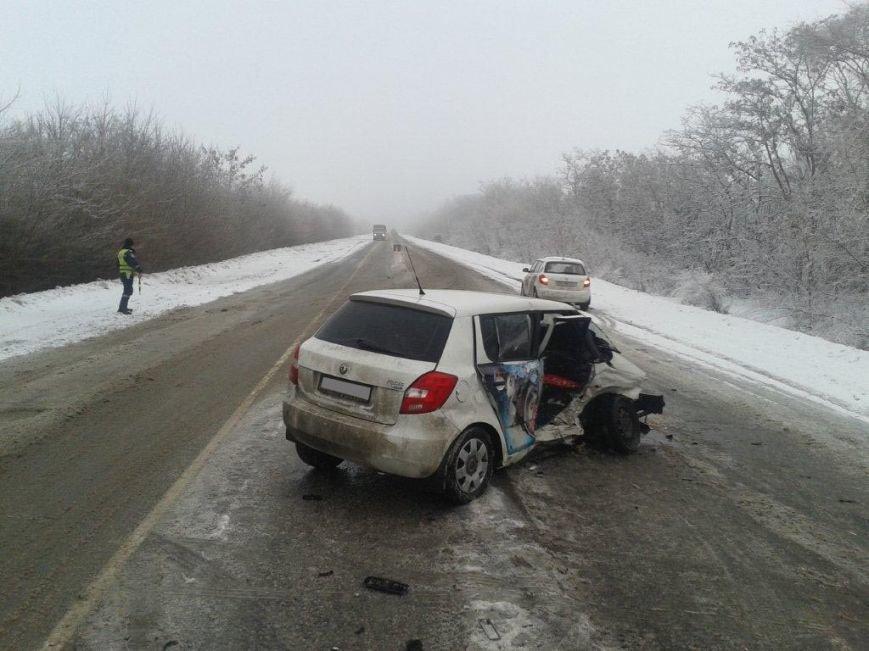 В Запорожской области столкнулись легковушки – пострадало пять человек (ФОТО), фото-1