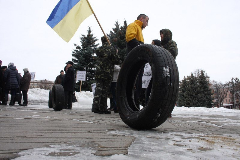 В Полтаве прошёл «коммунальный» митинг (ФОТО) (фото) - фото 3