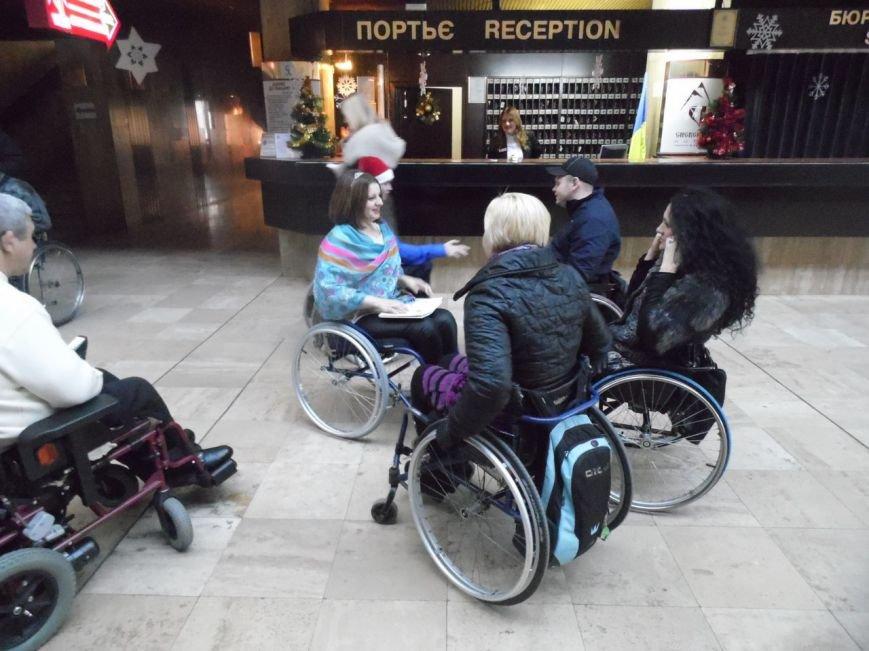 У Чернівцях відбулося свято для людей з обмеженими фізичними можливостями (фото) - фото 1