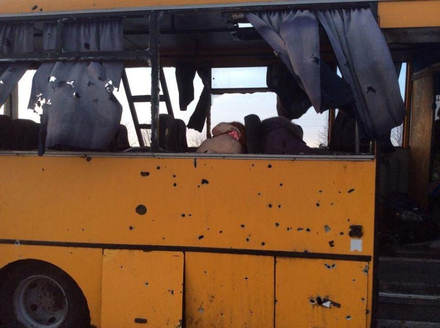 На трассе Донецк-Мариуполь боевики нанесли артиллерийский удар по автобусу. Погибли 10 человек (Дополняется+ФОТО, ВИДЕО), фото-5