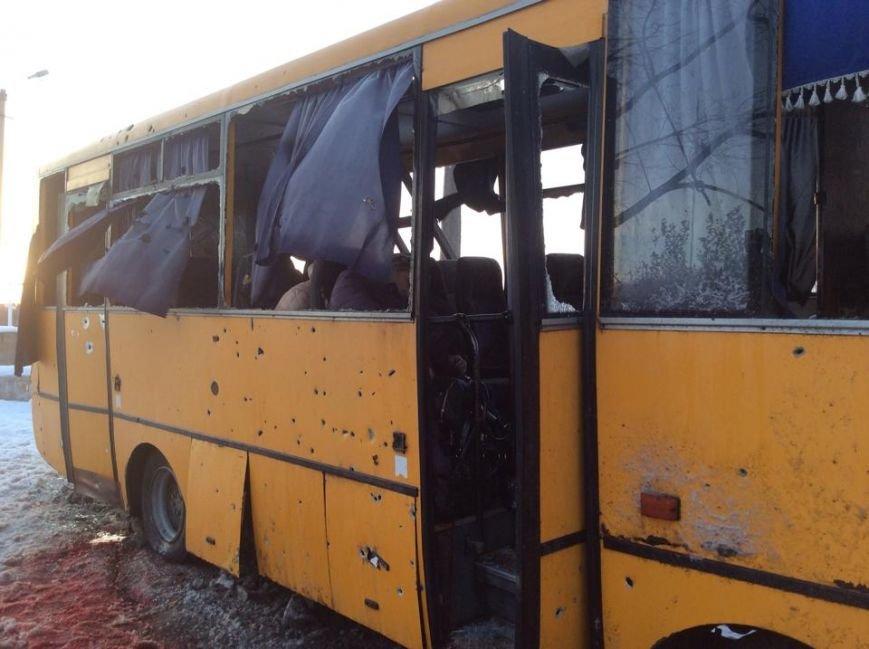 На трассе Донецк-Мариуполь боевики нанесли артиллерийский удар по автобусу. Погибли 10 человек (Дополняется+ФОТО, ВИДЕО), фото-6