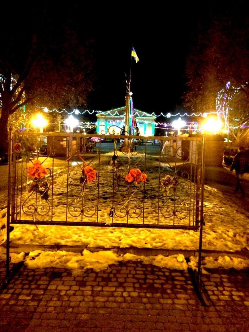 На Театральному майдані зникли всі фотографії загиблих тернополян з Небесної сотні (фото) (фото) - фото 1