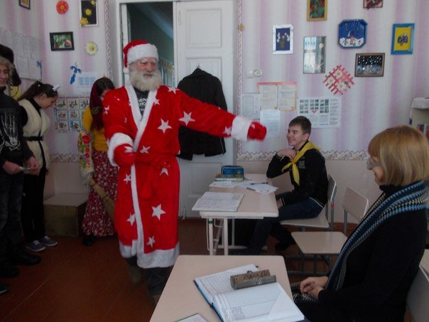 В авдеевской школе № 1 прошел праздник Маланки (фото) - фото 1
