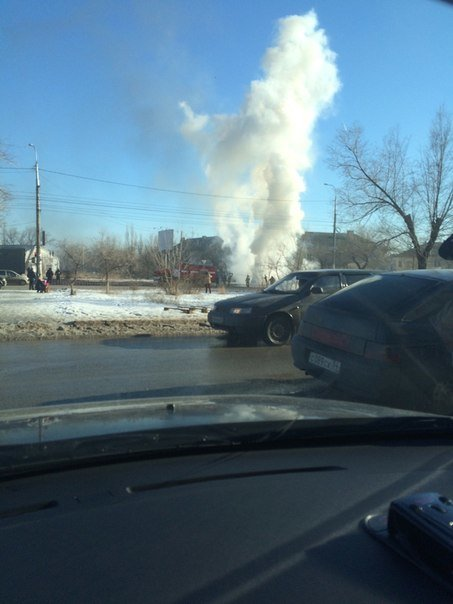 В Волгограде сгорела Газель (фото) - фото 1