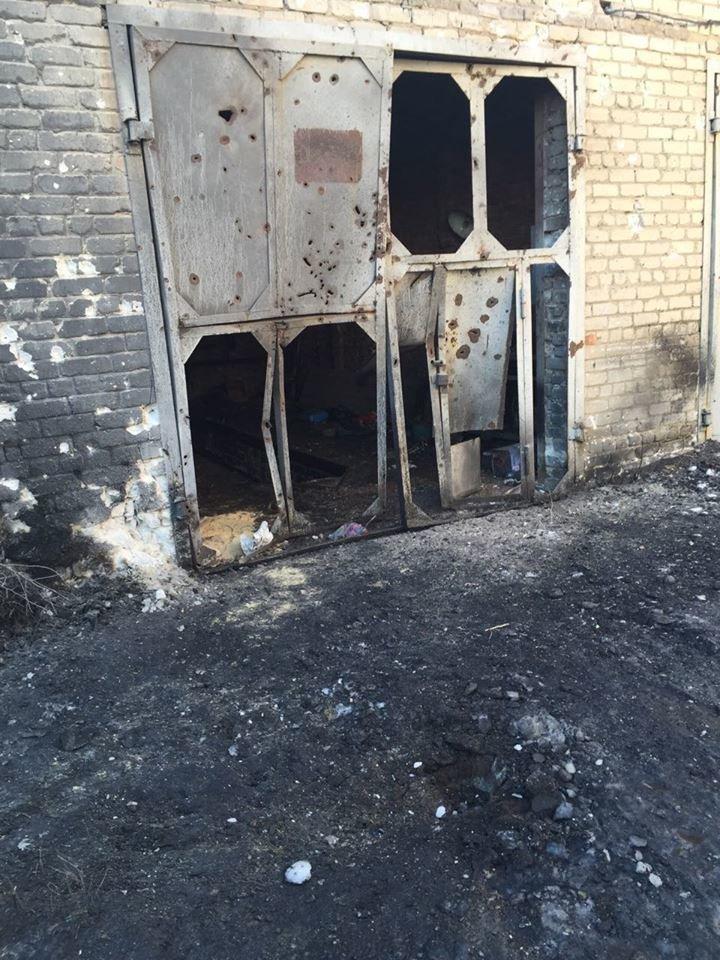 Начальник областной милиции осмотрел поврежденные после артобстрела объекты Авдеевки (фото), фото-2