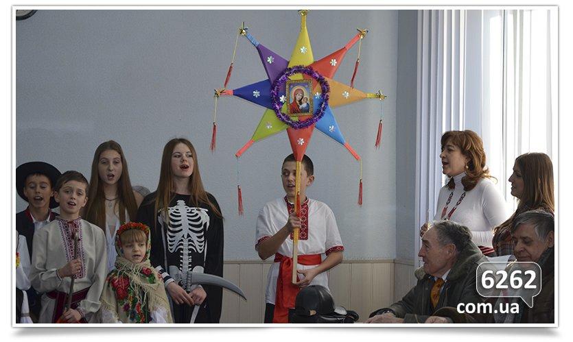 Славянские школьники поставили Вертеп для чиновников и солдат. (фото) - фото 2