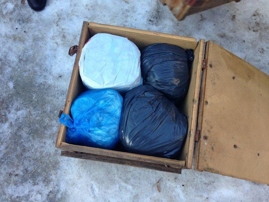 В Артемовске правоохранители задержали мужчину, хранившего у себя 3 ящика конопли, фото-2