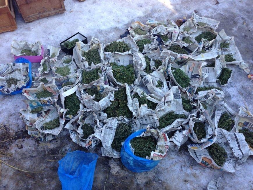 В Артемовске правоохранители задержали мужчину, хранившего у себя 3 ящика конопли, фото-3