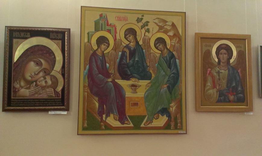В Симферополе открылась выставка писаной храмовой иконы (ФОТО) (фото) - фото 6