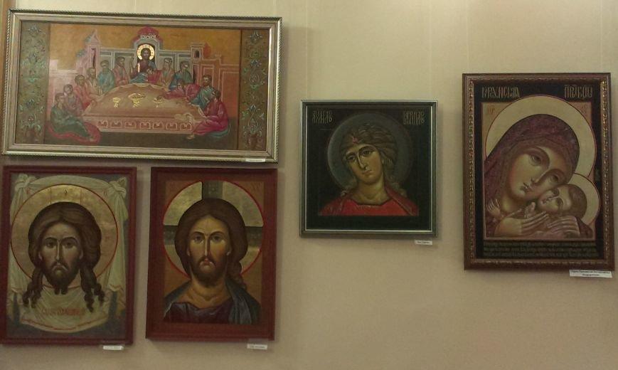 В Симферополе открылась выставка писаной храмовой иконы (ФОТО) (фото) - фото 3