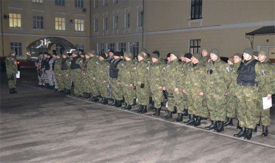 Ще півсотні добровольців з числа працівників міліції Кіровоградщини нестимуть службу на Сході країни (фото) (фото) - фото 1