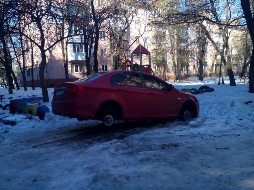 В Запорожье автокражи набирают обороты (ФОТО) (фото) - фото 1