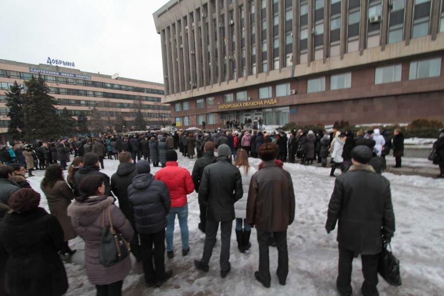 Запорожцы почтили память погибших под Волновахой (ФОТО), фото-1
