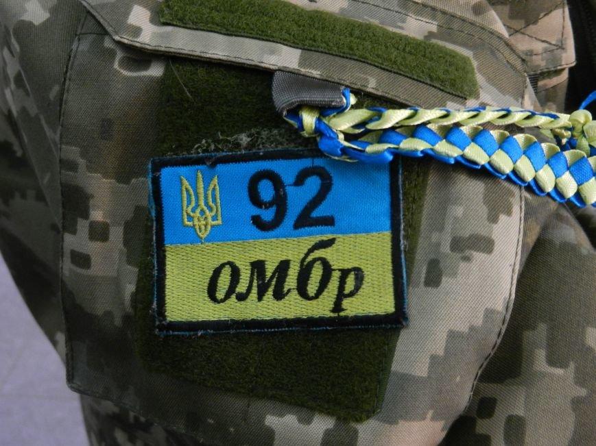 Обратно, в зону АТО, кременчугский боец вернётся с украинским флагом и воспоминаниями о доме (фото) - фото 1