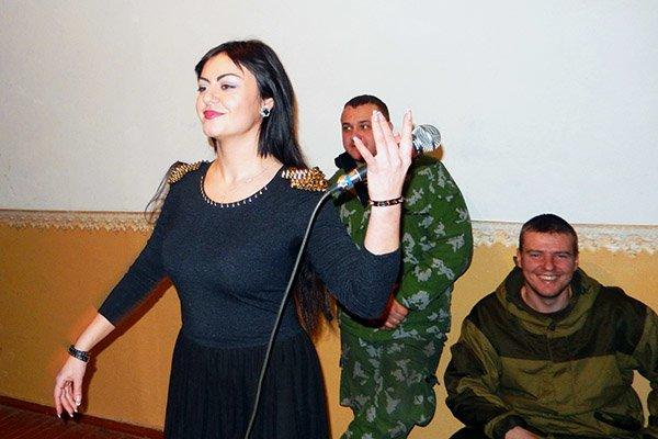 Творчі колективи Слов'янські привітали нацгвардійців (фото) - фото 4