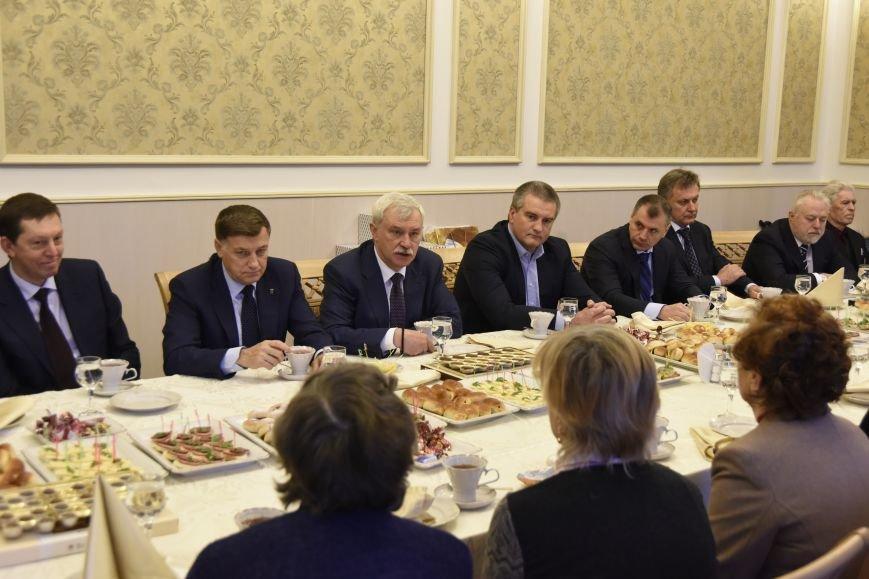 Крым подписал соглашение о сотрудничестве с Санкт-Петербургом (ФОТО) (фото) - фото 6