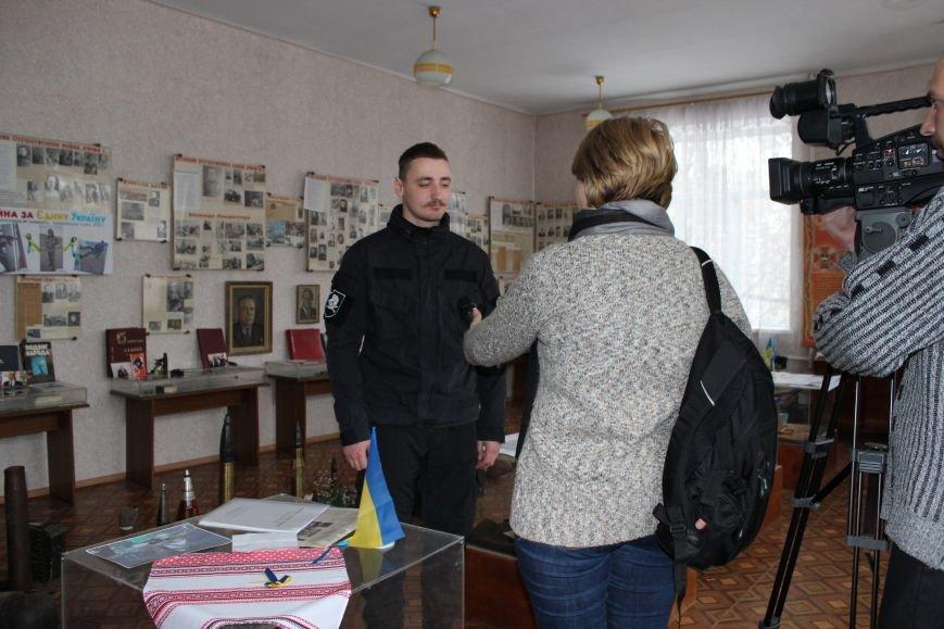 Бойцы батальона «АЗОВ» посетили николаевскую школу-интернат №5 (ФОТО), фото-3