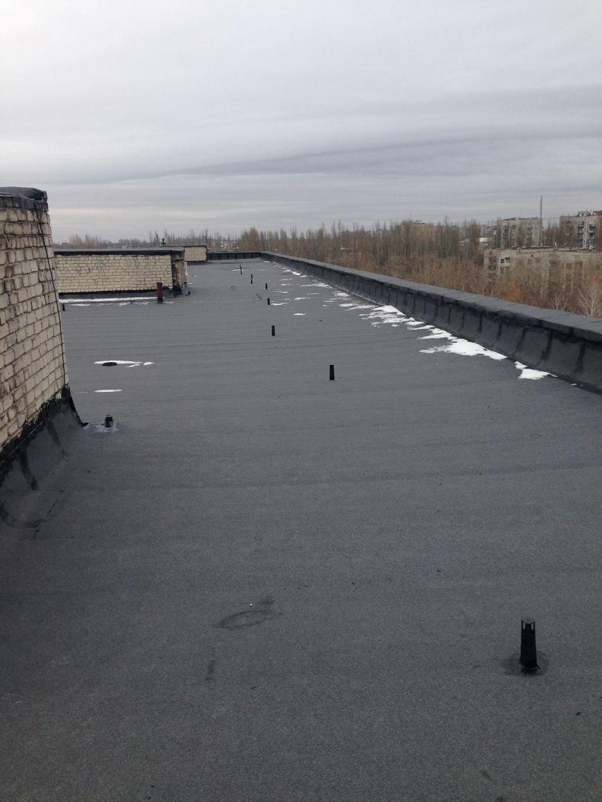 Обновленная крыша
