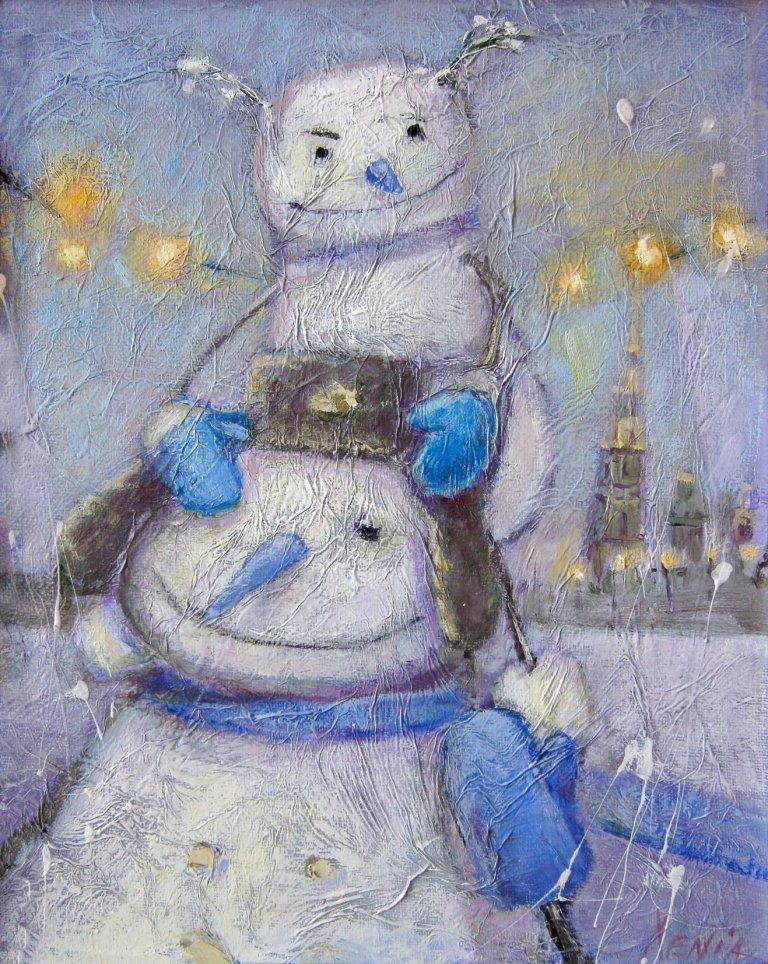 я ем снег2