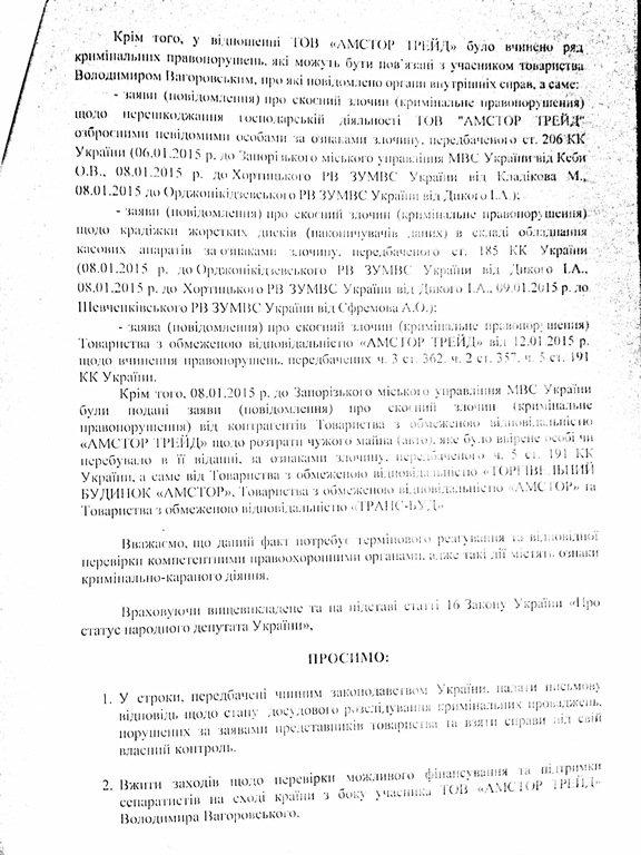 «Депутатский контроль» обвинил экс-управляющего сети «Амстор» в финансировании терроризма (фото) - фото 2