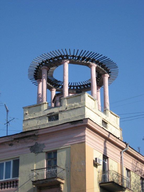 Хогвартс в Днепропетровске: уникальные беседки на крышах (ФОТО), фото-2