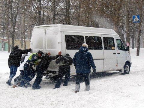 Сніговий апокаліпсис (ФОТО) (фото) - фото 1