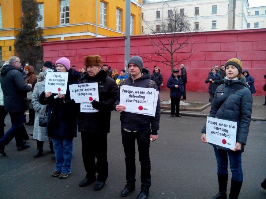 В Киеве на акцию  «Памяти жертв терроризма» собралось около 5 тысяч человек (Добавлено ФОТО) (фото) - фото 1