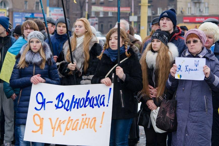 #JeSuisUkraine днепродзержинцы вышли почтить память погибших военных и жертв среди мирного населения Украины (фото) - фото 3