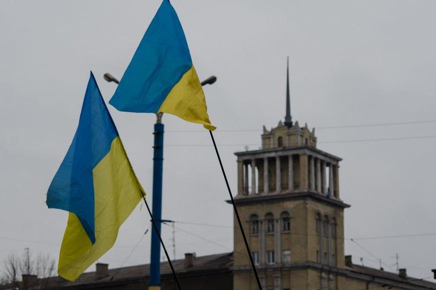 #JeSuisUkraine днепродзержинцы вышли почтить память погибших военных и жертв среди мирного населения Украины (фото) - фото 9