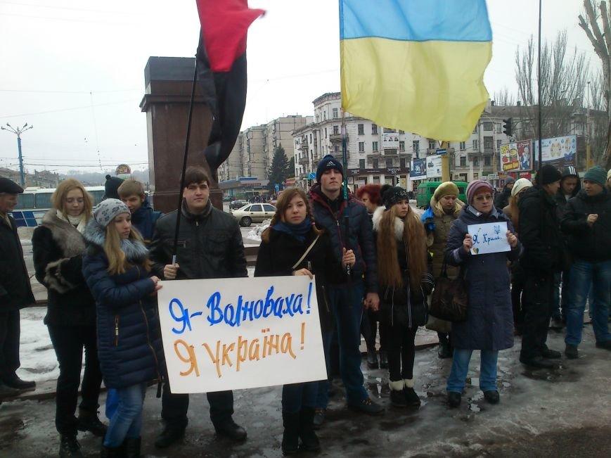 #JeSuisUkraine днепродзержинцы вышли почтить память погибших военных и жертв среди мирного населения Украины, фото-4