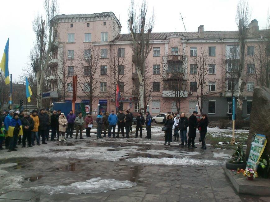 #JeSuisUkraine днепродзержинцы вышли почтить память погибших военных и жертв среди мирного населения Украины, фото-8