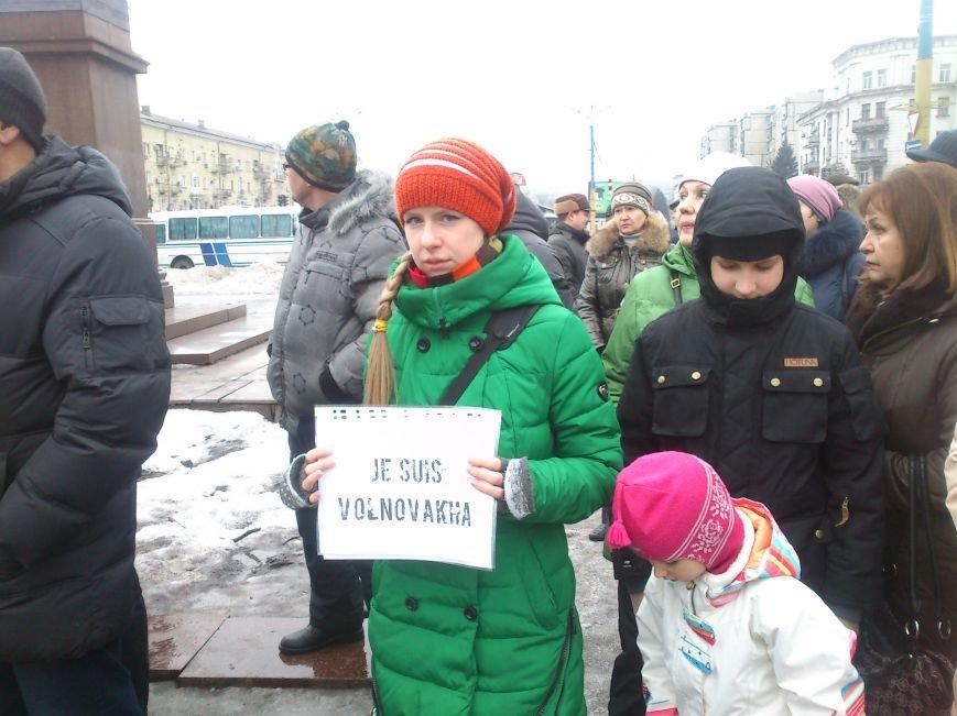 #JeSuisUkraine днепродзержинцы вышли почтить память погибших военных и жертв среди мирного населения Украины, фото-5