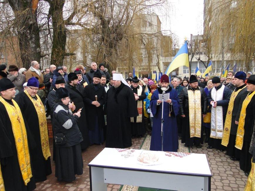 Хмельницький пройшов маршем солідарності у пам'ять за загиблими під Волновахою (фото) - фото 2