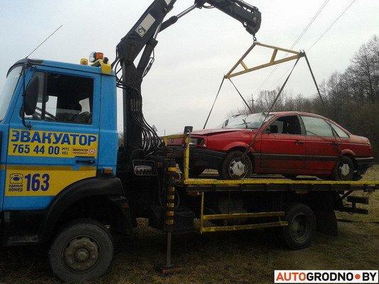 Под Гродно перевернулся VW Passat B3 (Фото), фото-6