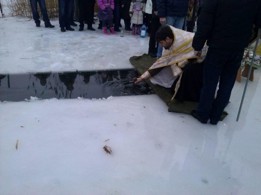 Днепродзержинцы искупались в крещенской проруби, фото-3