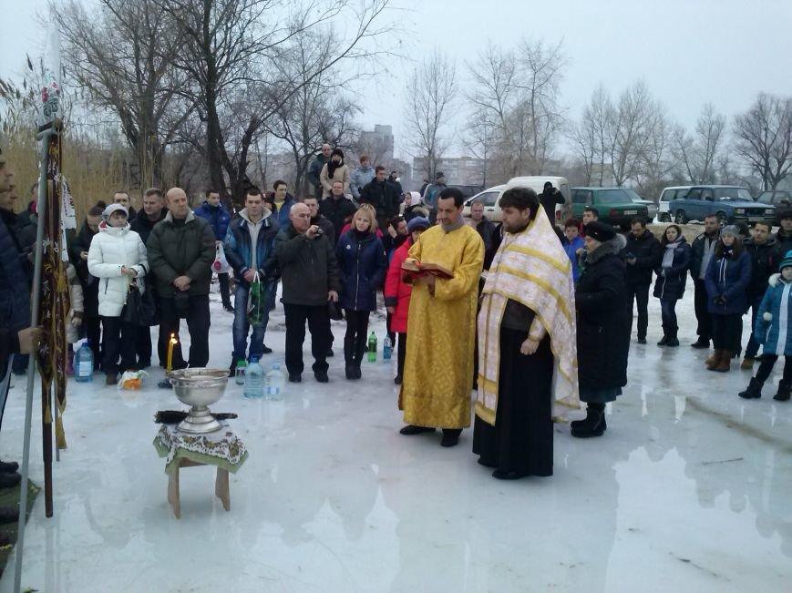Днепродзержинцы искупались в крещенской проруби, фото-2