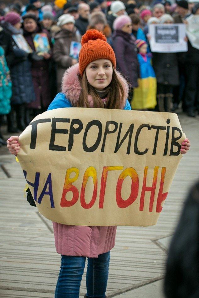 Марш против терроризма в Днепропетровске в лицах (ФОТОРЕПОРТАЖ, ВИДЕО), фото-1