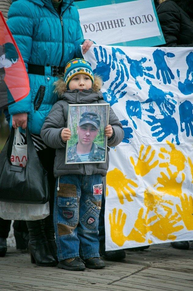 Марш против терроризма в Днепропетровске в лицах (ФОТОРЕПОРТАЖ, ВИДЕО), фото-24