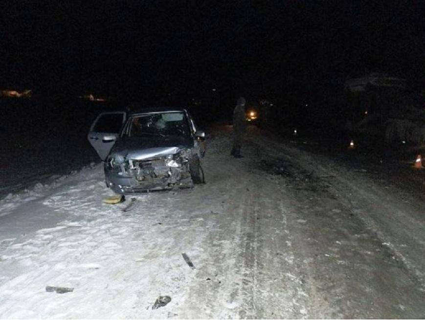18 января в Ульяновской области на «встречке» столкнулись три «ВАЗа» (фото) - фото 1