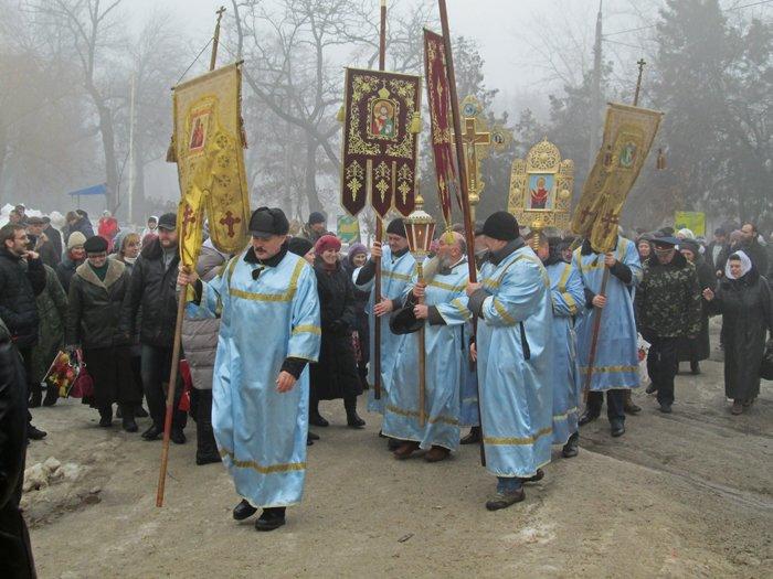 В праздник Крещения Господнего николаевцы окунулись в прорубь (ФОТО), фото-1