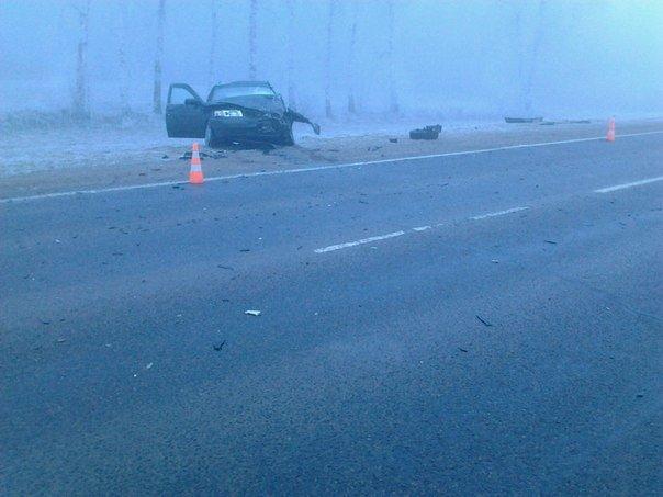 На дороге «Гродно - Волковыск - Барановичи» столкнулось две легковушки: 3 человека госпитализированы (фото) - фото 1