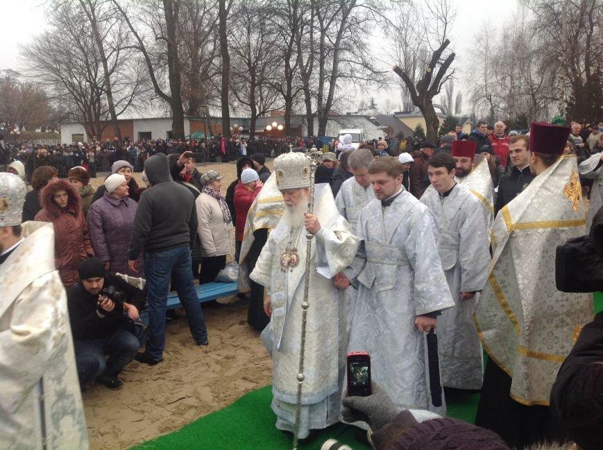 В Киеве на Оболони и в Гидропарке в крещенских купаниях приняли участие 1,5 тыс. человек (ФОТО) (фото) - фото 1