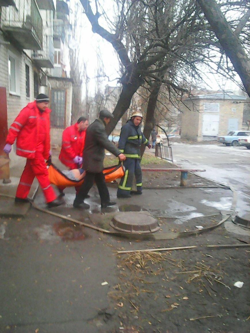 Світловодськ: під час ліквідації пожежі врятовано пенсіонерку. Фото (фото) - фото 1